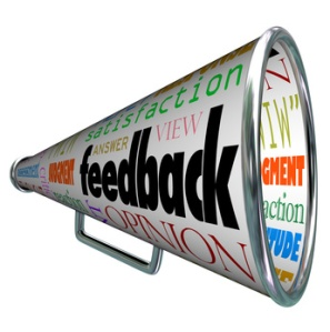 Feedback Megaphone Bullhorn Opinion Sharing